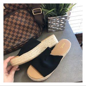 Chunky Boutique Platform Sandals